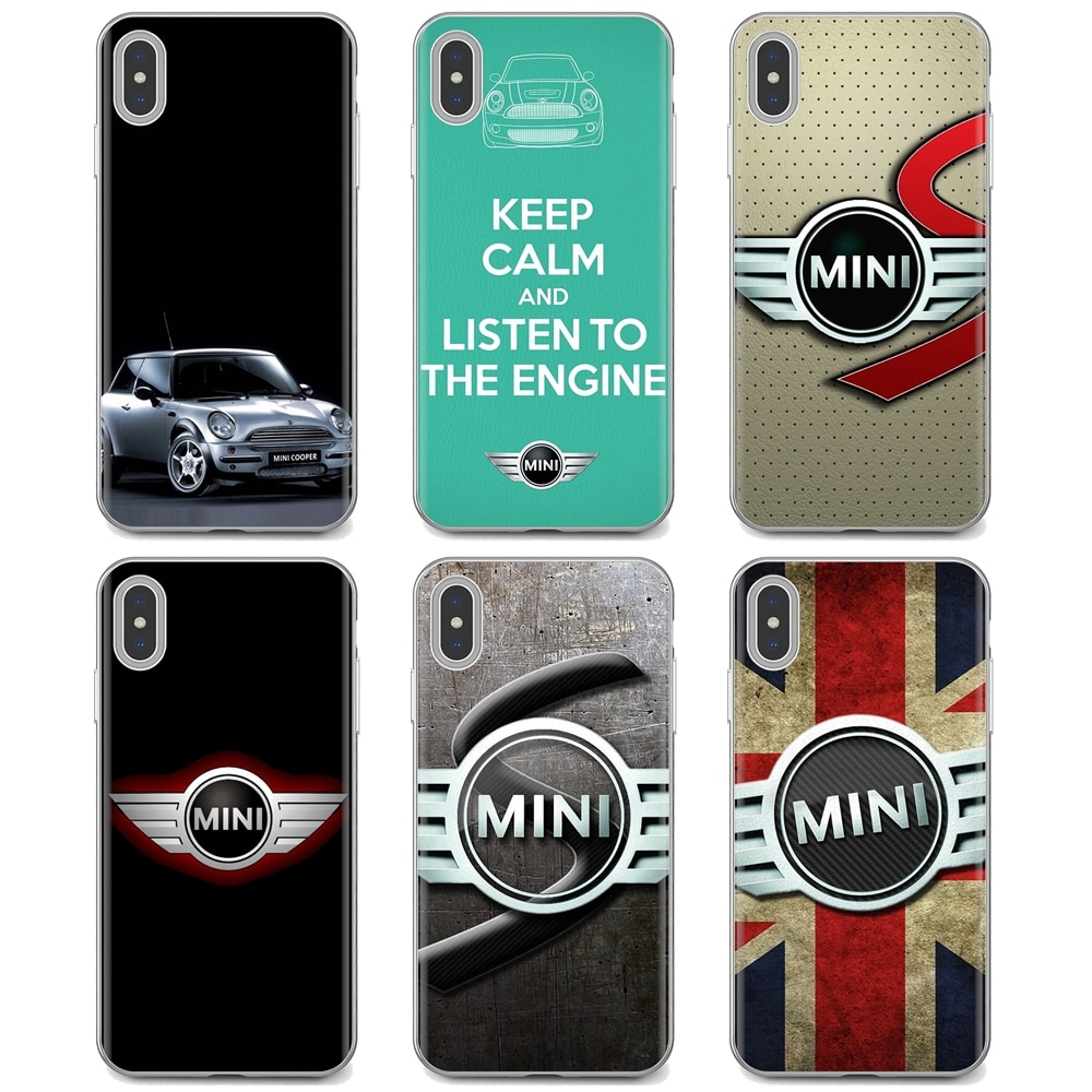 car mini cooper logo Hipster Silicone Phone Case For Huawei Y6 Y5 2019 For Xiaomi Redmi Note 4 5 6 7