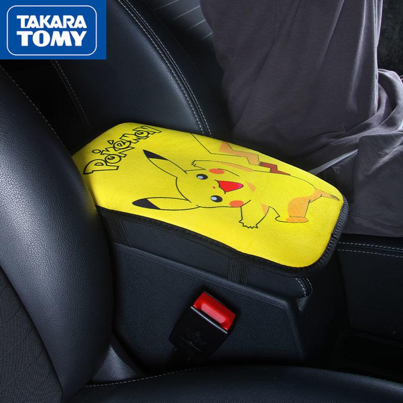 Универсальный автомобильный подлокотник TAKARA TOMY Pokemon, чехол для подушки, креативные автомобильные принадлежности для интерьера, чехол для п...