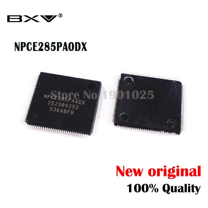 2pcs NPCE285PAODX NPCE285PA0DX QFP-128 NPCE285P 285P original novo