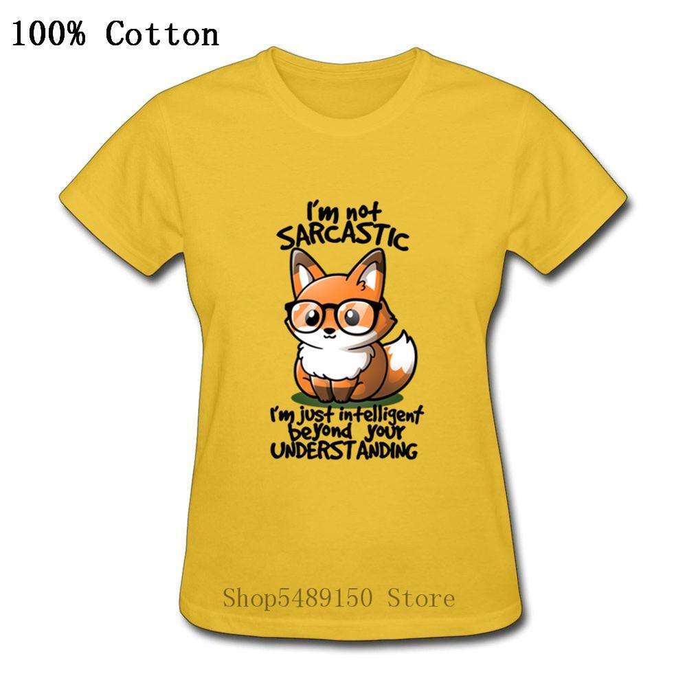 Divertido Harry magia Animal 2020 camiseta de moda de verano Kawaii Fox camiseta mujeres Nerd sarcasmo inteligente Potter-amante T camisa encantador Tops
