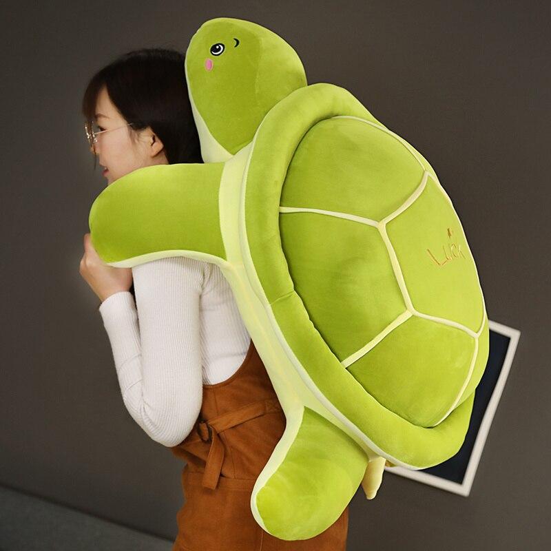 Хит, новинка, очень мягкая, милая, морская черепаха, плюшевые игрушки, мягкая набивная черепаха, животные, куклы, подушка, подарки для детей