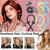 no heat sponge curling wand ladies foam unmanned curling wand hair accessories big wave styling tool curling artifact