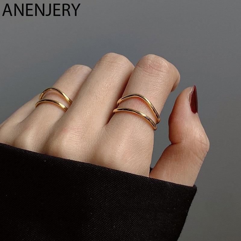 Женское-регулируемое-кольцо-с-двумя-изогнутыми-линиями-из-серебра-925-пробы