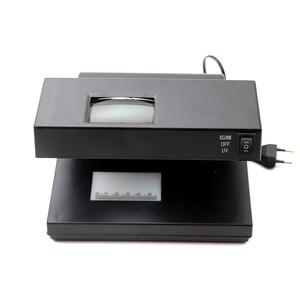 Портативный Настольный детектор поддельных купюр, наличных, денежных, денежных купюр, банкнот, УФ-лампа для проверки, водяная машина