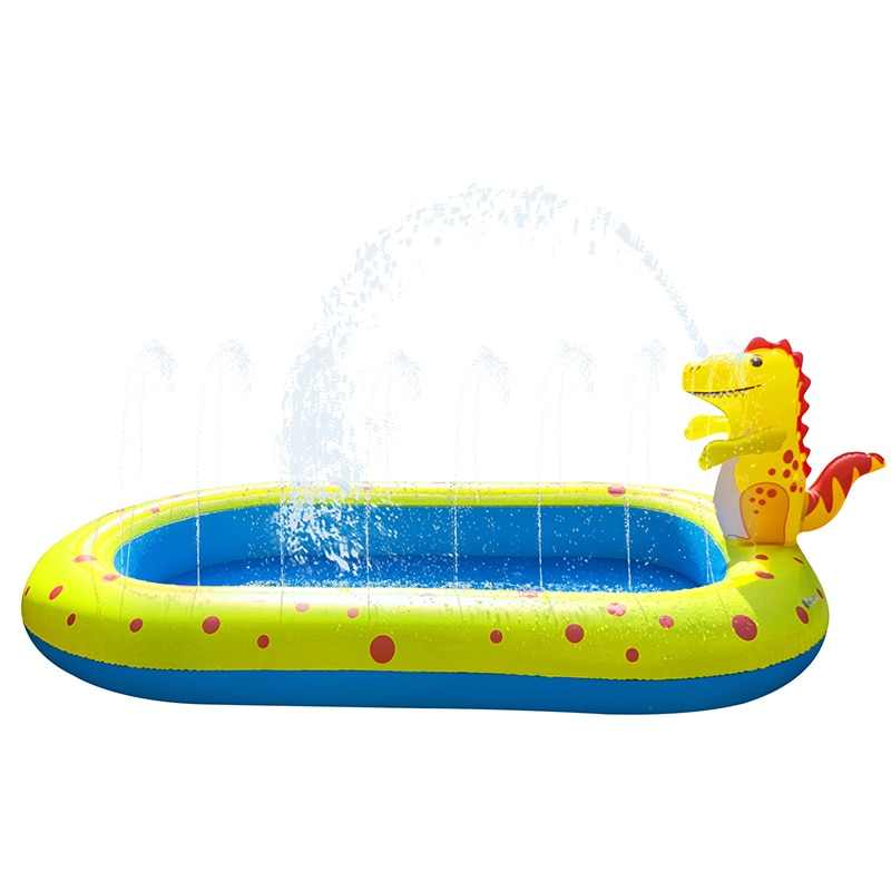 Hot Selling Child Summer Gift PVC  Inflatable Splash Sprinkler Swimming Pool for Kids