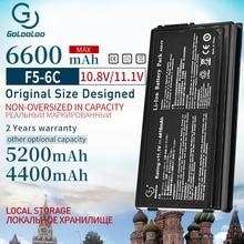 4400mah 11.1v 6cells batterie dordinateur portable pour asus A32-F5 F5 F5GL F5C F5M F5N F5RA F5RI F5SL F5Sr F5V F5VI F5VL X50RL X50SL X50V X59