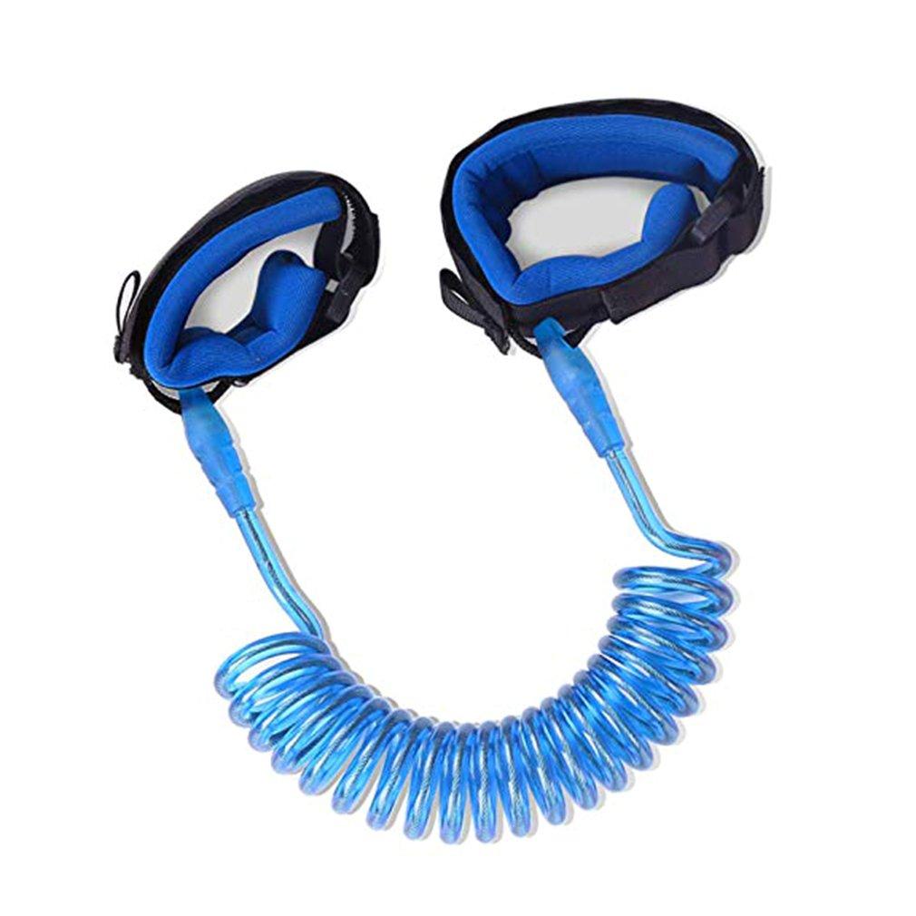 Cabeza giratoria Anti-pérdida con cuerda de tracción bebé pulsera Anti-Pérdida cuerda Anti-Pérdida equipo de seguridad infantil
