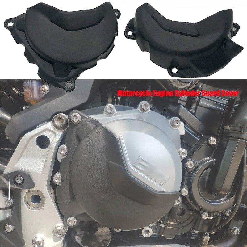 ل BMW F750GS F 750GS F850GS F 850GS ADV مغامرة 2018 2019 2020 محرك دراجة نارية اسطوانة الحرس غطاء حامي الأسود 1 زوج