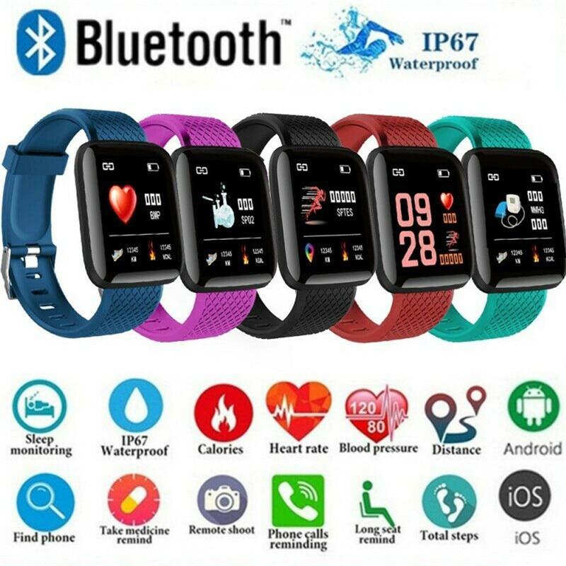 Reloj deportivo inteligente Bluetooth para mujer, pulsera, relojes de Fitness, presión arterial, Monitor de ritmo cardíaco, rastreadores de passoter