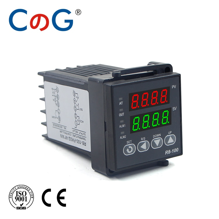 CG 48*48 مللي متر 600 800 درجة المدخلات K J PT100 0-10 فولت 4-20mA PID الناتج SSR التتابع 110 فولت-220 فولت 24 فولت 380 فولت أداة تحكم في درجة الحرارة بالترموستات