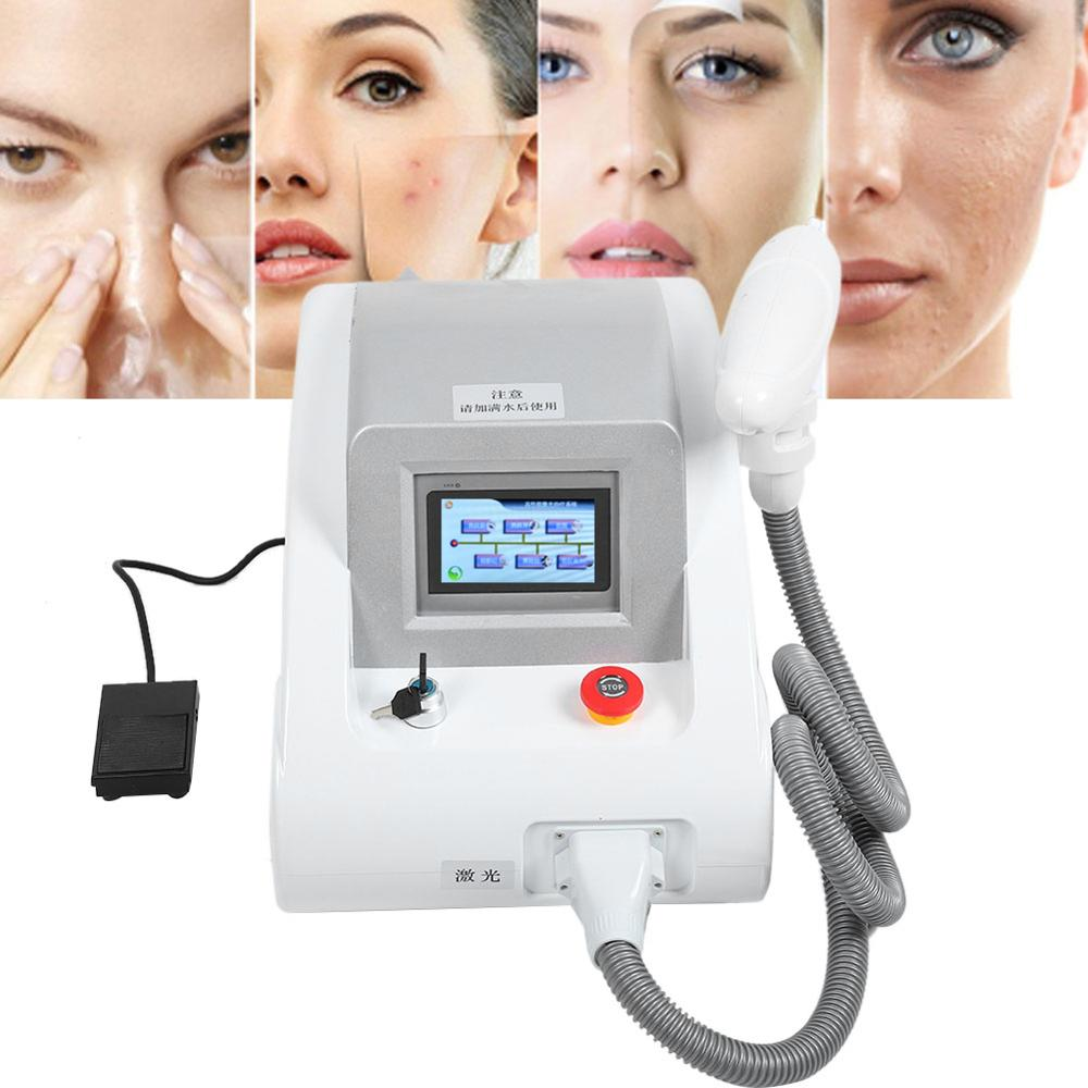 High Power Pigmentation Embroider Eyebrow Tattoo Removal Laser Face Whiten Machine Spots Treatment Beauty Instrument Handheld