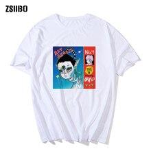 T shirt Art Angels Adventure Graphic Print Tee Homme Canada Anime Style Tshirt Plus Size Soft  Grimess album Tops T-Shirt Men
