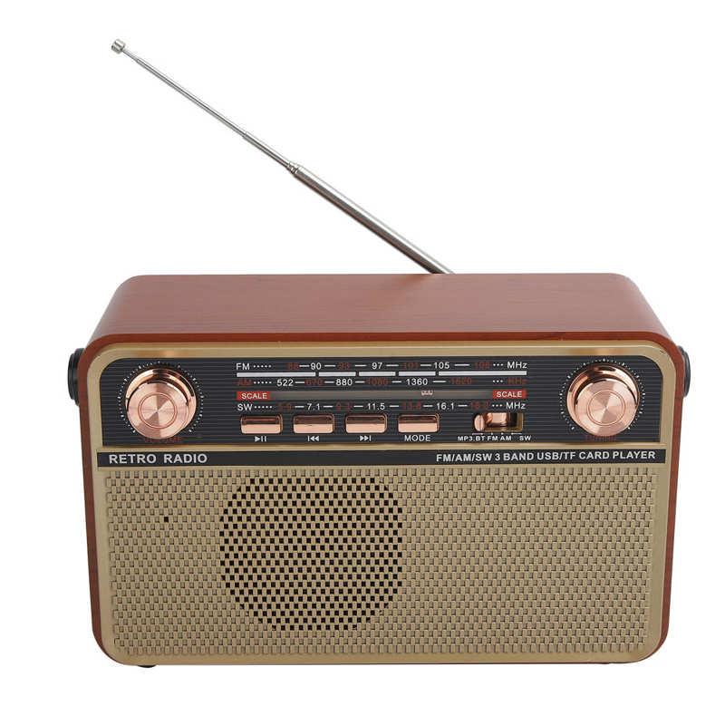 جهاز استقبال راديو محمول مع منفذ USB لشحن راديو FM/AM/SW من fone de ouvido سموني لأجهزة USB وبطاقة ذاكرة USB جهاز استقبال