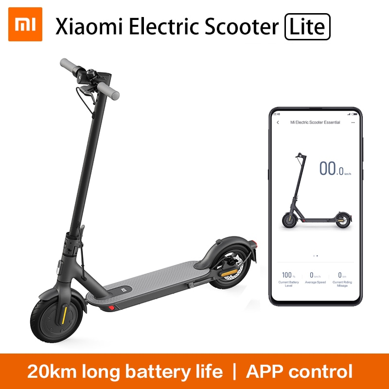 Xiaomi-Patinete eléctrico Mi Essential MIJIA Smart Lite, Mini Scooter plegable para adulto