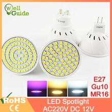 LED ampoule lampe à LED 3W 4W 5W DC 12V AC 220V 240V E27 MR16 GU10 élèvent la lumière Bombillas Lampada Lampara éclairage de projecteur