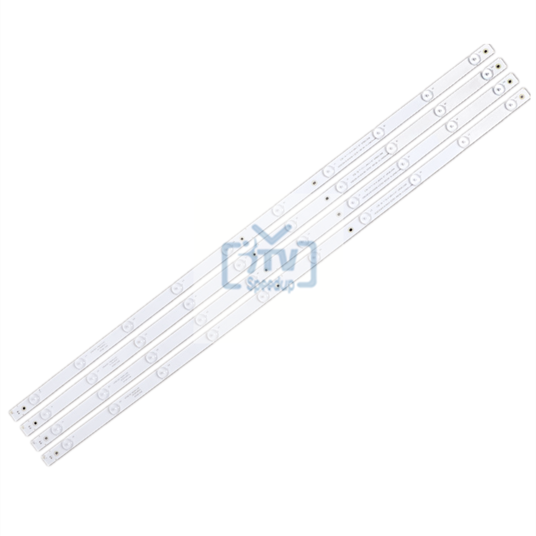 50set/200pcs LED backlight for Philco Ph43u21 Ph43u21dsg Ph43u21dsgw NEW!!