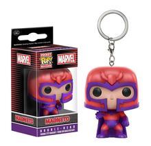 Funko Pop Pocket Marvel X-Men Keychain Magneto Action Figure Toys