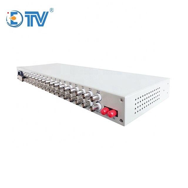 ETV 16E1 PDH optimux FC وضع واحد الألياف واحدة