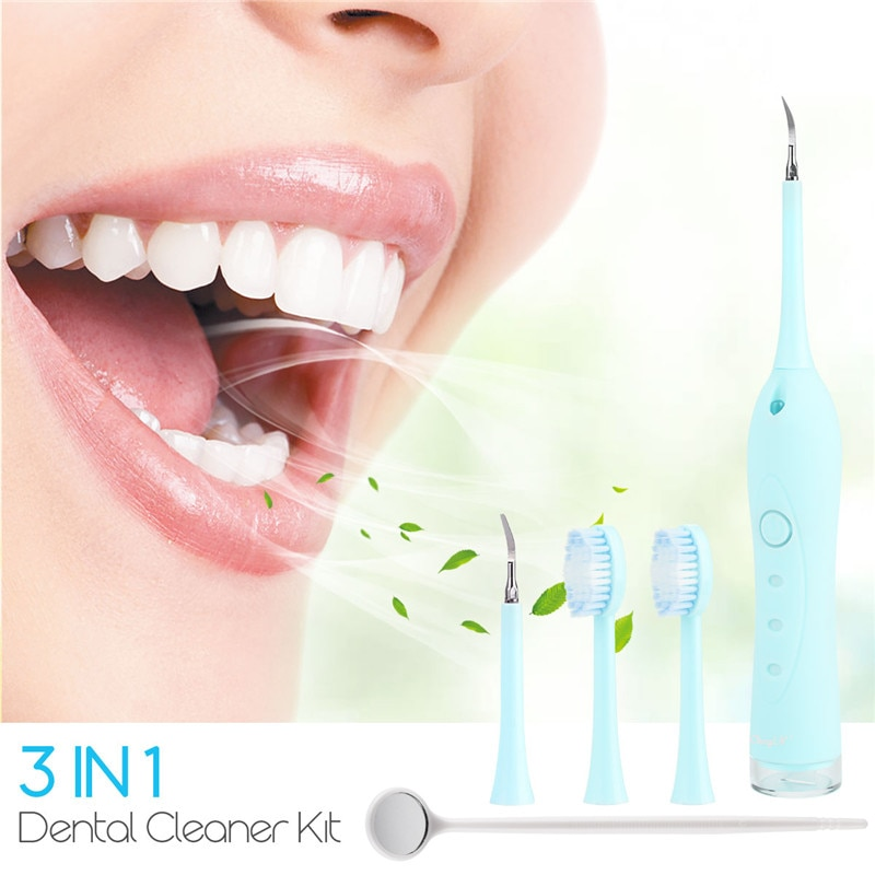 Portable Electric Ultrasonic Dental Scaler Tooth Calculus Tool Sonic Remover Stains Tartar Plaque Whitening Oral Cleaner Machine enlarge