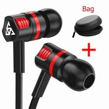 In-ear Wired Earphone For Phone In Ear Sport Headset Stereo Earbuds Handsfree Mic Earphones For Iphone 7 X Samsung Xiaomi Huawei