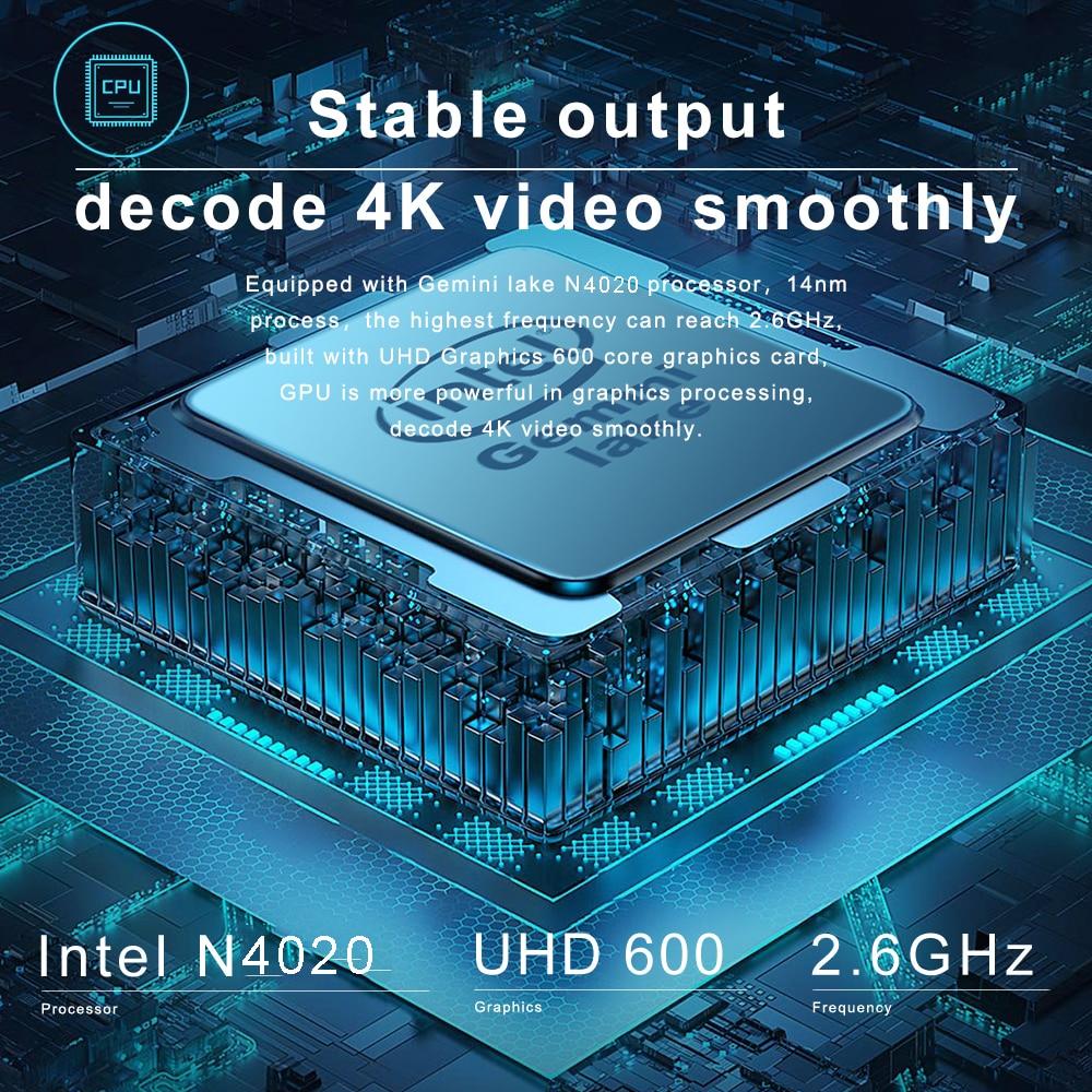CHUWI HeroBook Pro 14.1Inch Laptop 8GB RAM 256GB SSD Intel Gemini lake N4020 Dual core  Windows 10 computer Full Layout Keyboard