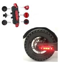 Linterna de tira LED de advertencia, lámpara de barra para Scooter Eléctrico XIAOMI M365 M365 Pro, bicicleta nocturna, luz decorativa de seguridad, Scooter