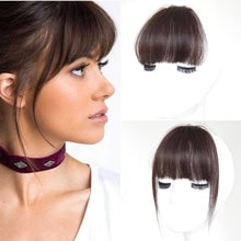 MUMUPI fake wig Bangs fringe Clip In Bang FAKE hair pieces Front extension Neat for Women girl  fake hair