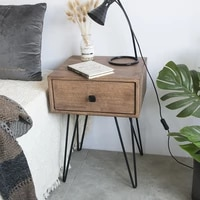 joylive bedside table nordic simple modern net red ins wind bedroom solid wood bedside cabinet locker small apartment