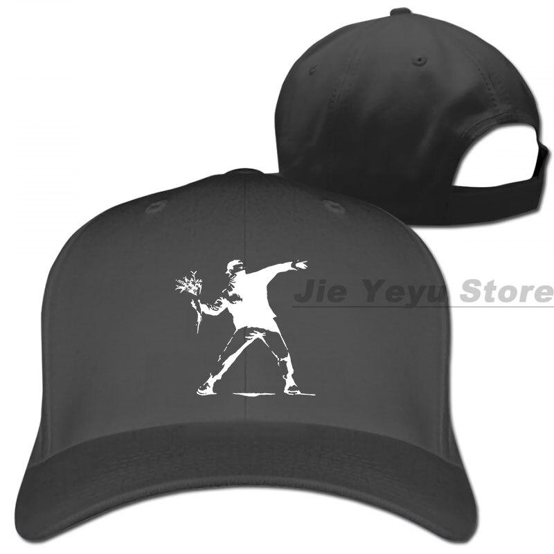 Banksy Graffiti Art Street Wear moda única tallas superiores S M L XL gorra de béisbol hombres mujeres gorras de camionero moda gorra ajustable