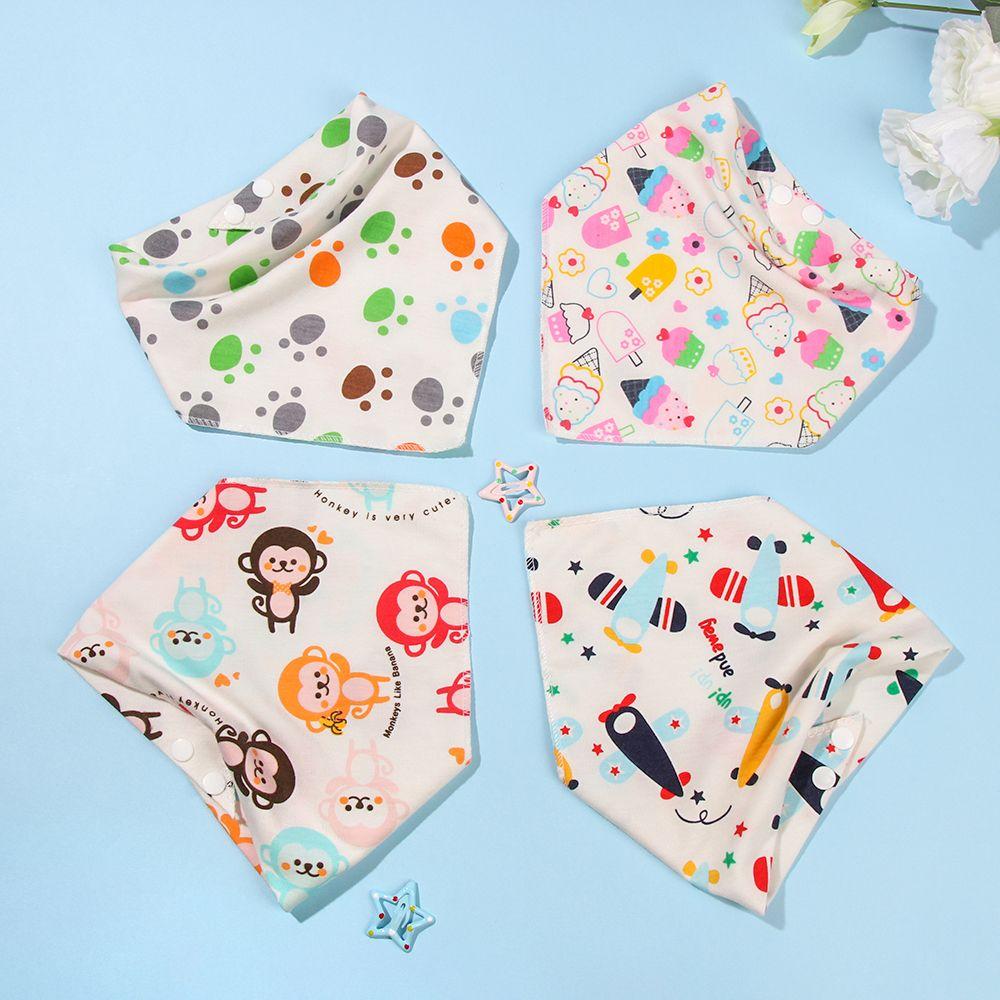 1PC Cotton Baby Scarf Muslin Burp Cloth Bandana Bibs Newborn Baby Boy Infant Girl Toddler Winter Sca