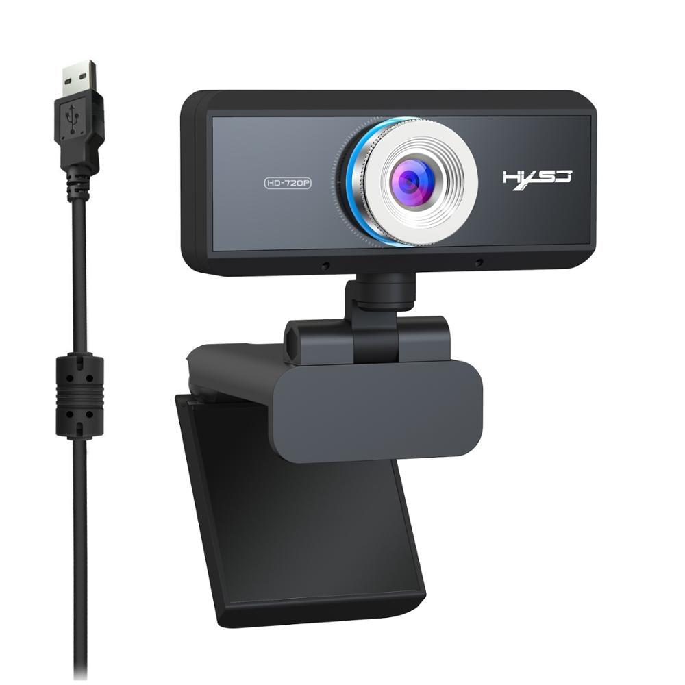S90 HD 720P cámara web micrófono incorporado enfoque automático videollamada de alta gama Cámara periférica de ordenador para ordenador portátil