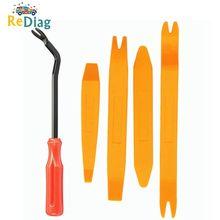 Kit di strumenti per la rimozione del rivestimento del pannello della Clip della porta automatica smontaggio della navigazione altalena strumento di conversione dell'altalena in plastica per interni Auto 4/10 set