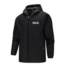 BALR Series Men Women Hoody Hiking Jacket Waterproof Quick Dry Camping Clothes Outdoor Sports Coats