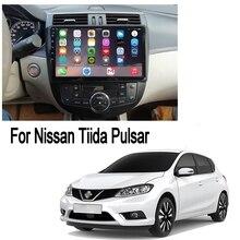 ZaiXi 2din voiture multimédia Android Autoradio lecteur GPS pour Nissan Tiida Pulsar 2011 ~ 2020 Bluetooth WiFi miroir lien