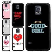 Good Bad Girl Best Friend Case For Samsung Galaxy A51 A71 A7 S10 S20 Ultra S9 S8 Plus S10E Note 10 9 A10 A20 A40 A50 A70 Cover