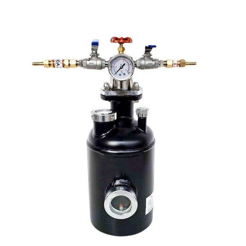 Brazing Flux Generator Acetylene Propane Gas Flux Brazing Tank RD160T-B 4L Maximum Capacity Welding Equipment 0.05Mpa YZ