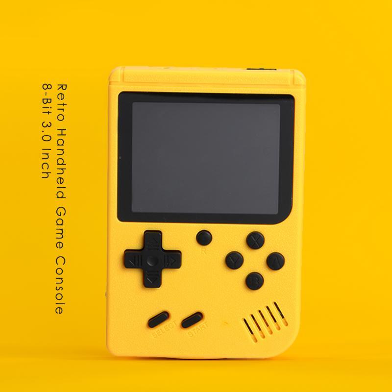 Consola de juegos portátil con batería de 400 mAh para jugadores nostálgicos, de 8 bits y 3,0 pulgadas con 800 juegos integrados.