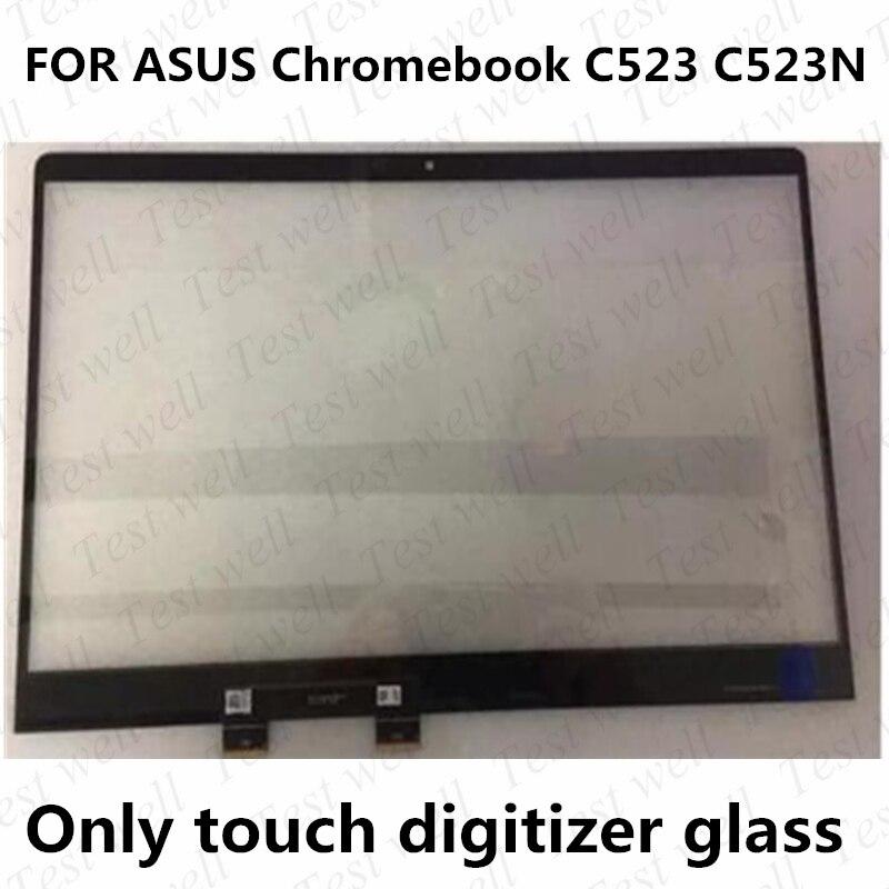 جديد الأصلي 15.6 ''ل ASUS Chromebook C523 C523N الزجاج اللمس محول الأرقام لوحة استبدال الشاشة ل ASUS C523NA-IH24T