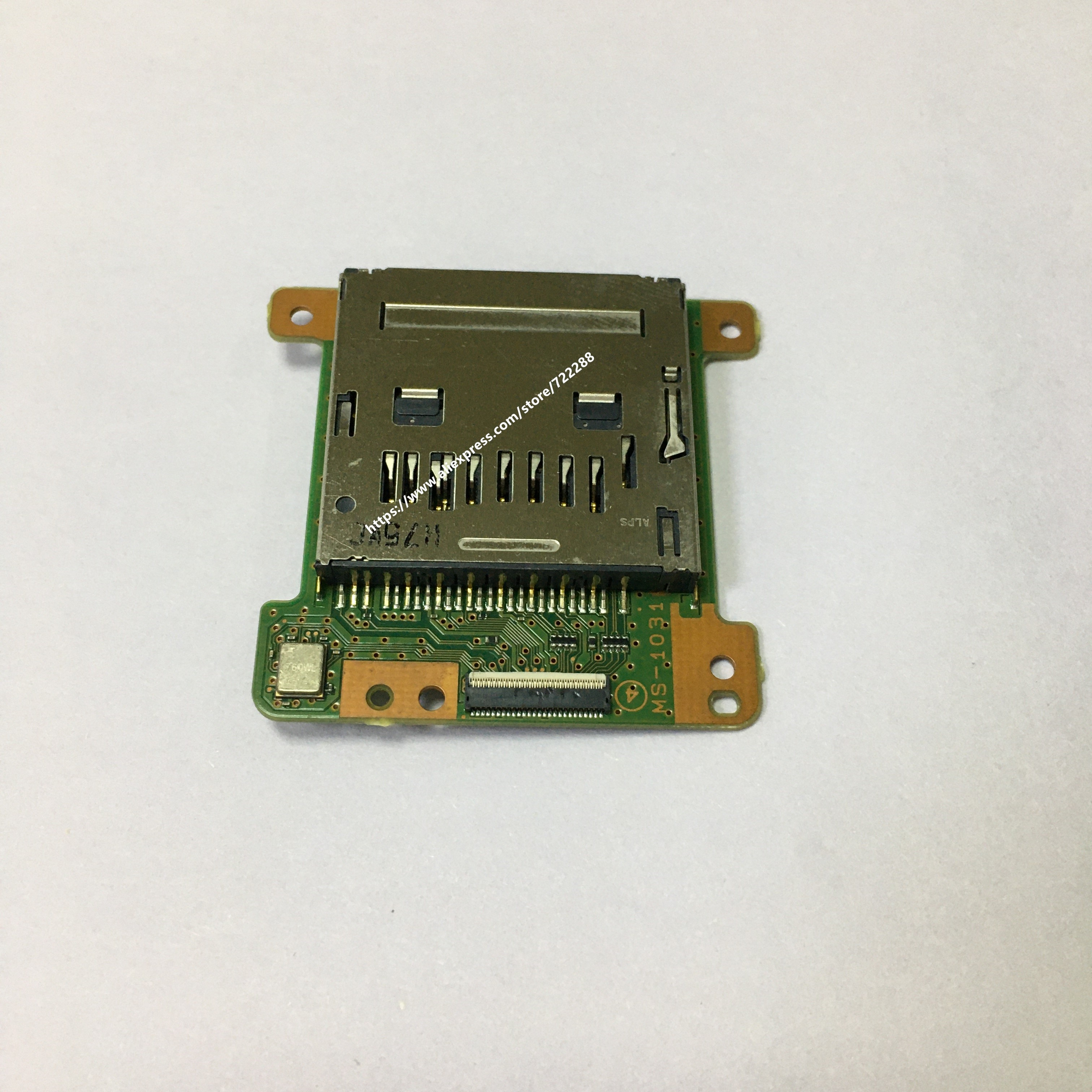 Piezas de repuesto para Sony FDR-AX40 FDR-AX53 SD Tarjeta de cemento ranura MS-1031 A-2103-902-A de montaje