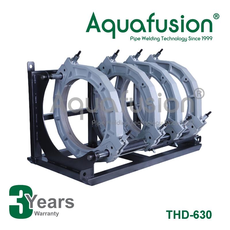 Aquafusion Butt fusion soldadora para HDPE tubo butt soldadora 630mm
