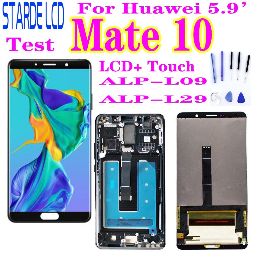 لهواوي ماتي 10 LCD عرض تعمل باللمس محول الأرقام الجمعية لهواوي ماتي 10 LCD Mate10 ALP L09 L29 استبدال الشاشة