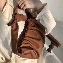 Designer 2020 Nouveau Pli Sauvage Cloud Sac Tempérament Banquet Dame Style Portable Aisselles sac casual épaule bandoulière sacs à main