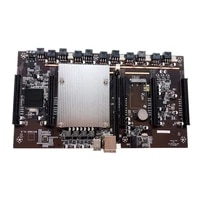 x79 mining mainboard in line supports 3060 with cpu perfect replacement single channel installation durable ddr3 main board