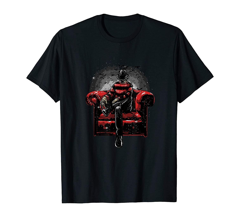 Camiseta filme de terror de pesadelo slasher cult film
