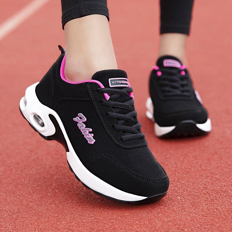 Women's Flat Platform Shoes Women Vulcanized Shoes Female Canvas Lace Up Comfortable Ladies Sneakers
