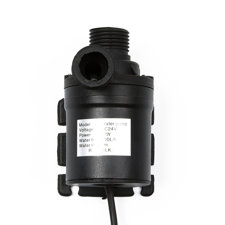 Bomba de Água em Casa Lagoa de Peixes Mini h Brushless dc Motor Submersível Dc12v 5m 800l –