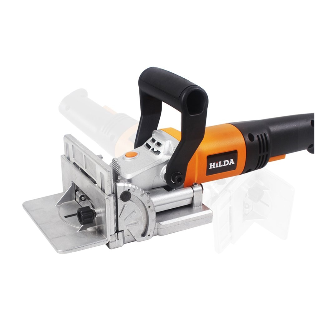 760W Biscuit Jointer Electric Tool Woodworking Tenoning Machine Biscuit Machine Puzzle Machine Groover Copper Motor EU Plug enlarge