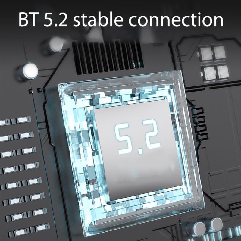 Wireless BT5.2 Earphones With Microphone 1BA 1DD APTX Touch Control Hybrid In Ear Earbuds For Outdoor Sports Bluetooth Earphones enlarge