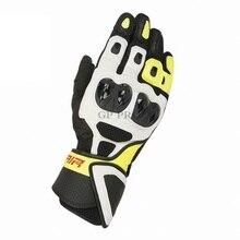 ¡Novedad de 2020! Guantes Alpin GP Pro SP AIR Fluo, guantes de cuero para motociclismo, guantes de verano para carreras de motos