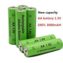 Daweikala nouvelle pile AA 3000 mAh batterie Rechargeable NI-MH 1.5 V pile AA pour horloges, souris, ordinateurs, jouets ainsi de suite